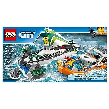 lego city 60168 bateau voile en dtresse - Lego City Bateau