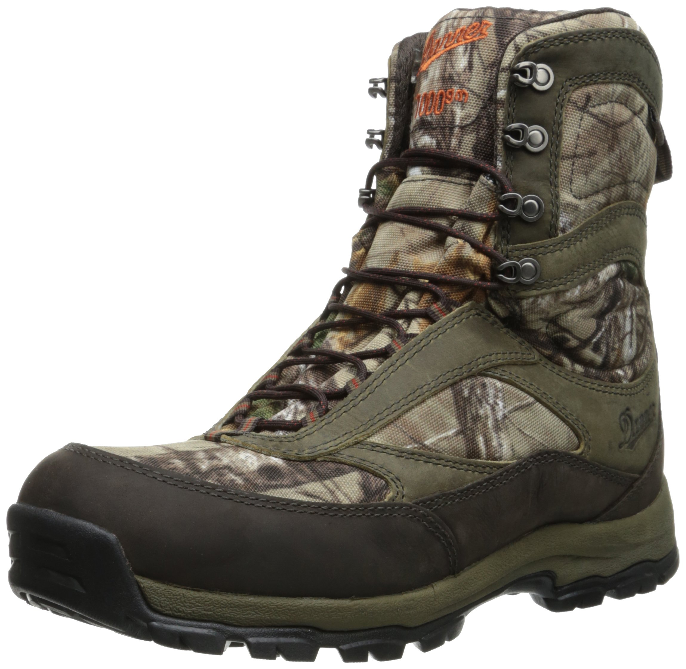 Danner Women's High Ground Realtree Xtra Hunting Boot,Brown/Green,10 M US by Danner