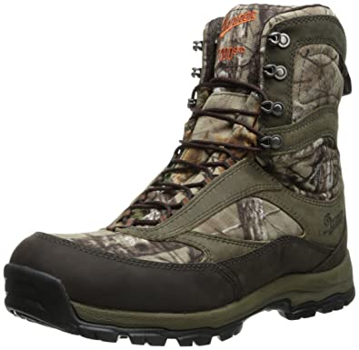 Danner Women's High Ground Realtree Xtra Hunting Boot,Brown/Green,5 ...