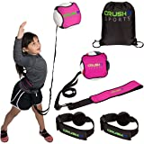 CRUSH iT SPORTS Volleyball Training Equipment Aid - Practice your Serving, Spiking, Setting & Arm Swing, Serve & Spike Like a