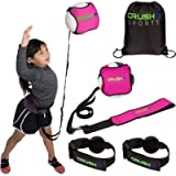 CRUSH iT SPORTS Volleyball Training Equipment Aid - Practice your Serving, Spiking, Setting & Arm Swing, Serve & Spike…