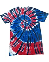 Colortone Kids/Childrens Rainbow Tie-Dye Heavyweight T-Shirt