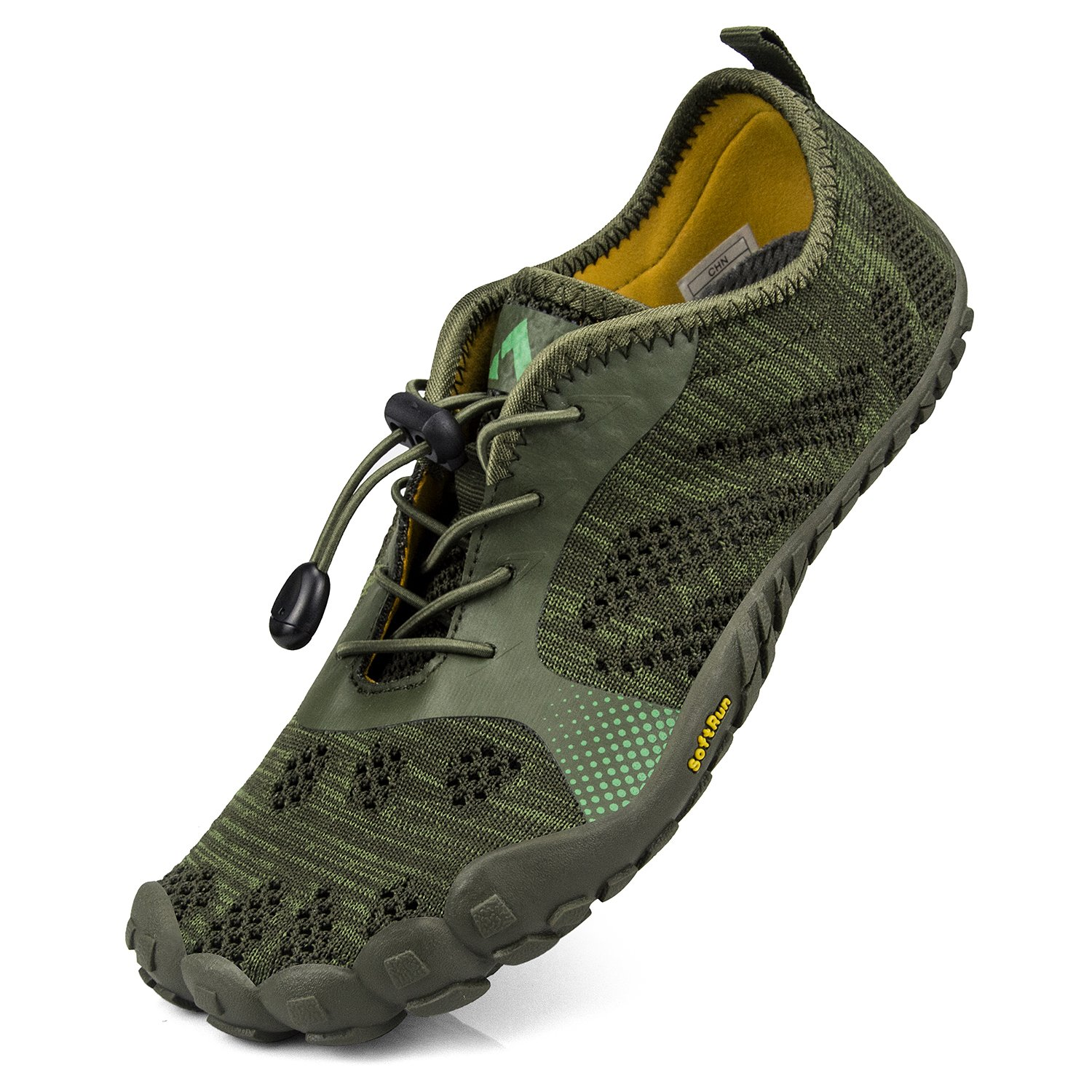 QANSI Womens Hiking Shoes Barefoot Water Shoes Mesh Breathable Outdoor Gym Athletics Running Walking Sports Shoes B07F7P2JKD 10 M US Green