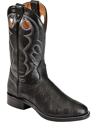 eeefe4e0e9c Amazon.com | Boulet Men's Roper Cowboy Boot Round Toe - 0027 | Western