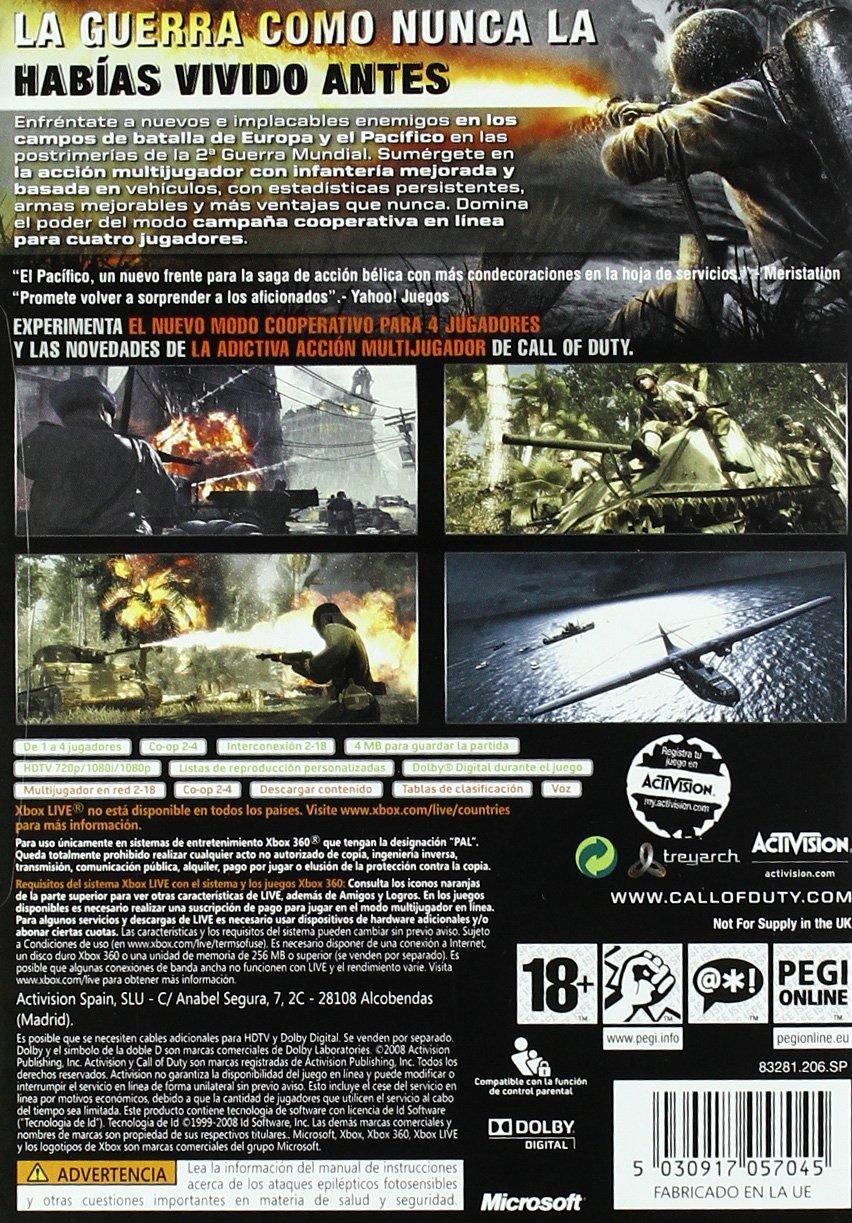 Call Of Duty: World At War - Classics: microsoft xbox 360 ...