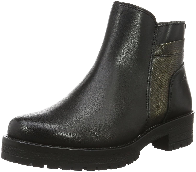 Marc Shoes Melissa, Botines para Mujer41 EU|Negro - Schwarz (Black-combi 00073)