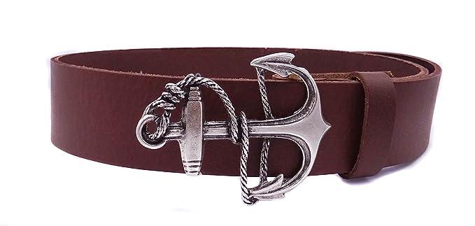 Vollrindledergürtel in höchster Qualität   Model Anker mit Tau    Hochwertiges Echtleder aus Italien   Leder 833e1288e0
