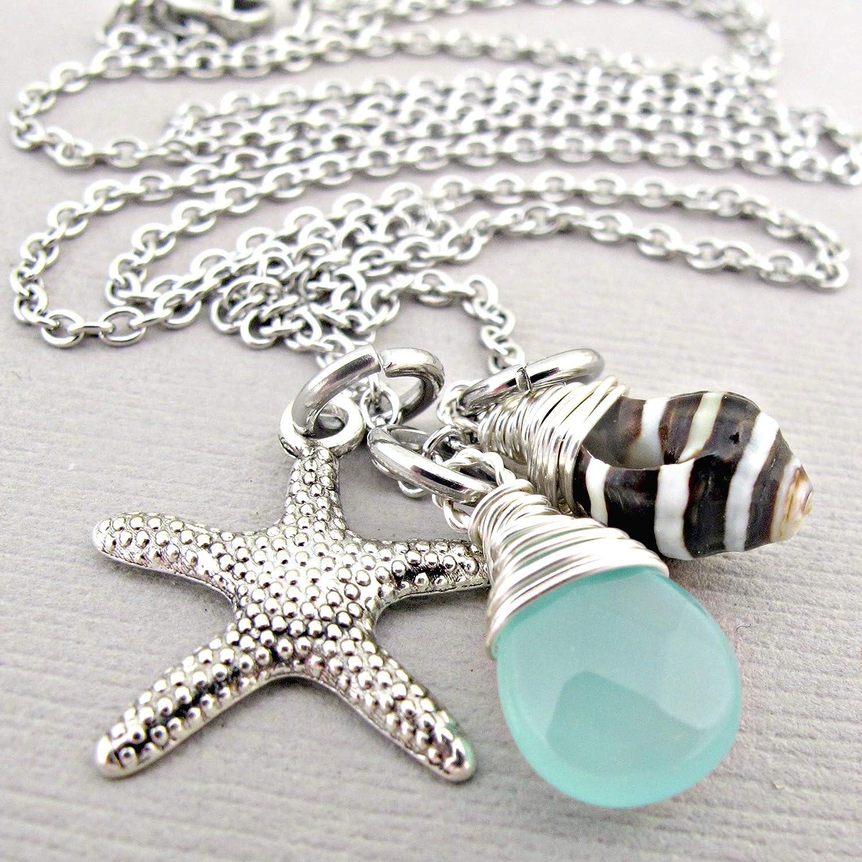 Sand dollar necklace Nautical Necklace Beach Necklace