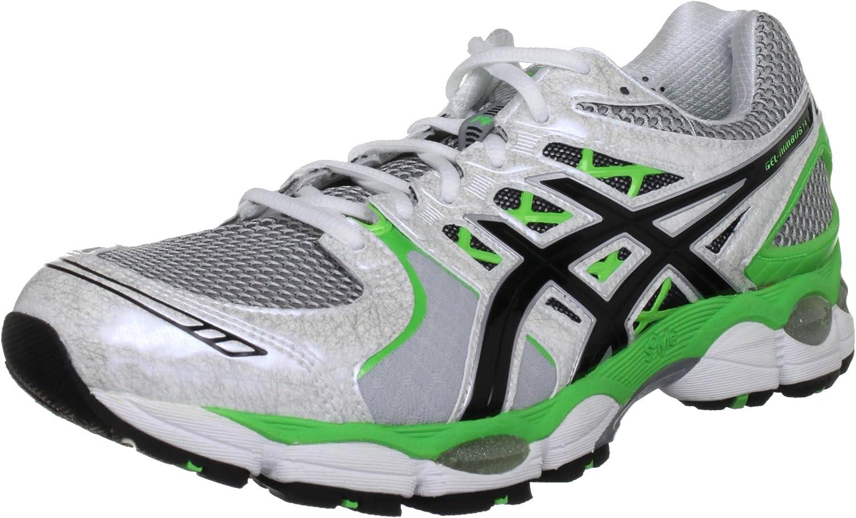 Elasticidad igual empujoncito  ASICS GEL-NIMBUS 14 Running Shoes (4E WIDTH) - 16 - White | Running -  Amazon.com