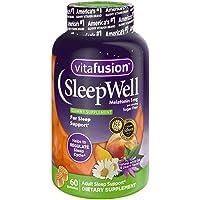 Vitafusion Sleep Well Gummy Vitamins, 60 Count (Pack of 3)
