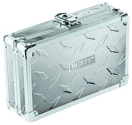 Amazon Com Vaultz Locking Supply Box 5 X 2 5 X 8 5 Treadplate