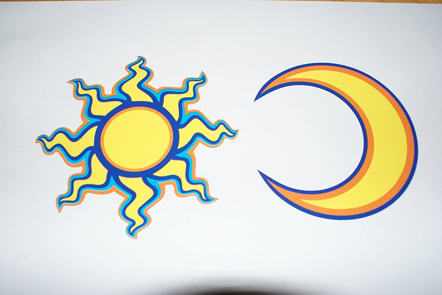 Rapro Graphics Rossi Sun And Moon Decal/Sticker (Separate)