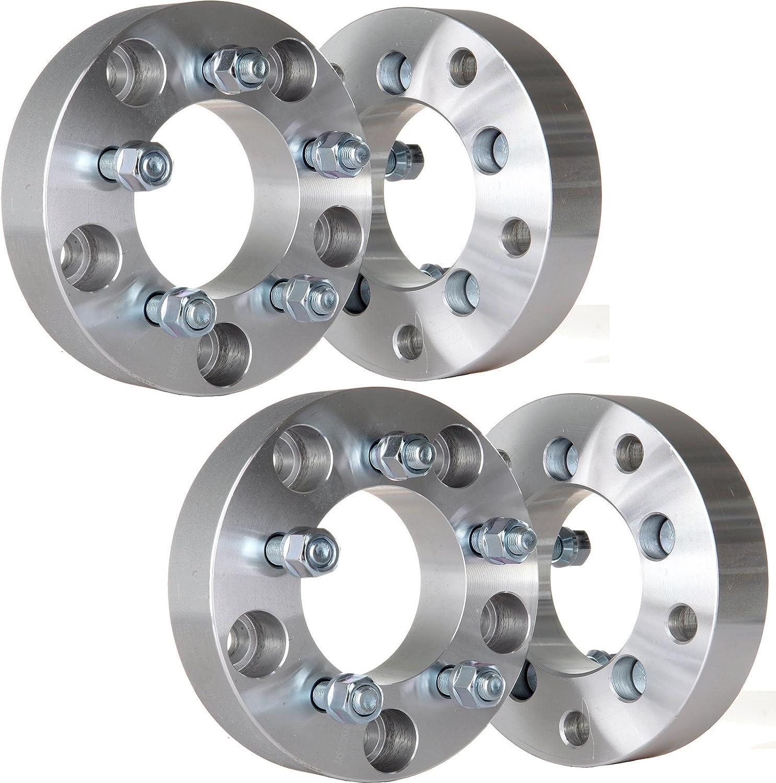 "4 Wheel Adapters 5x5.5 to 5x5 ¦ Wrangler Wheels on Dodge Dakota Spacers 1/"""