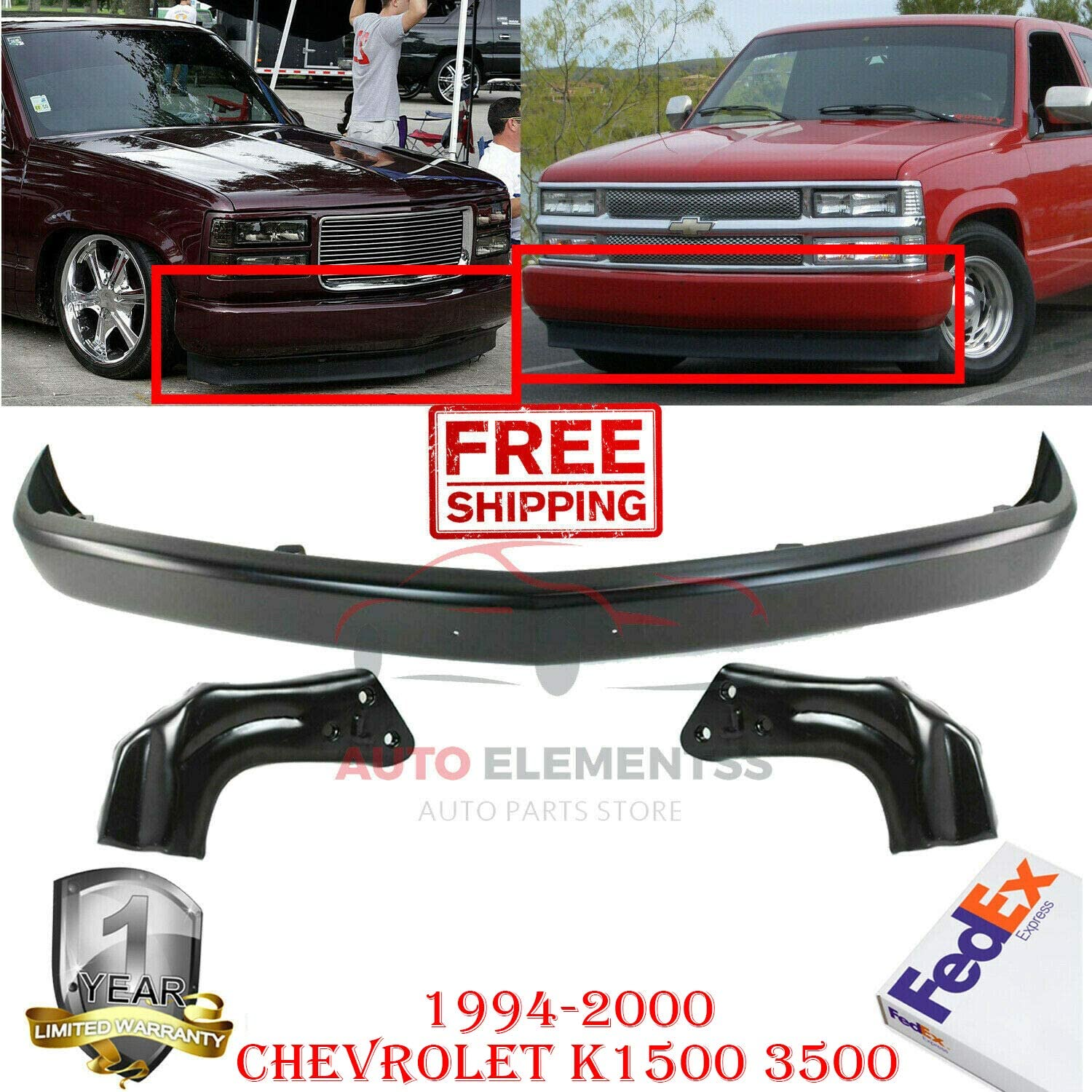 OEM License Plate Light LH /& RH Step Bumper Chrome Pair Set of 2 for Chevy GMC