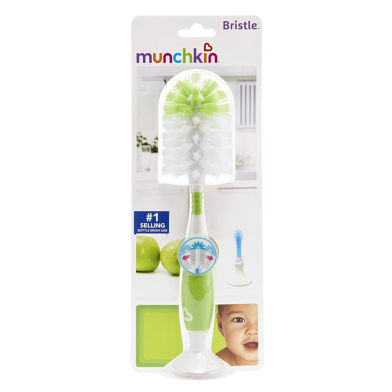 GREEN Munchkin BRISTLE BOTTLE BRUSH New