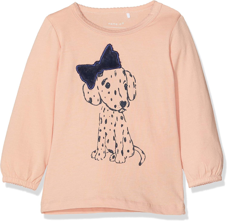 NAME IT Unisex Baby Nbndelinus Ls Top Sweatshirt