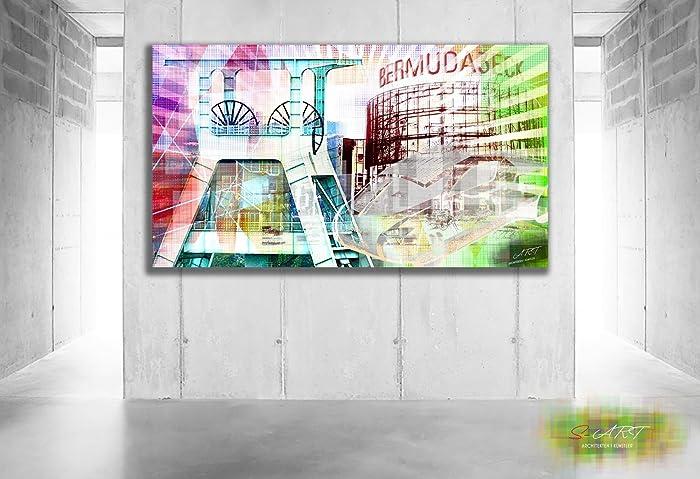 Künstler Bochum bochum pop gemälde direkt vom künstler amazon de handmade