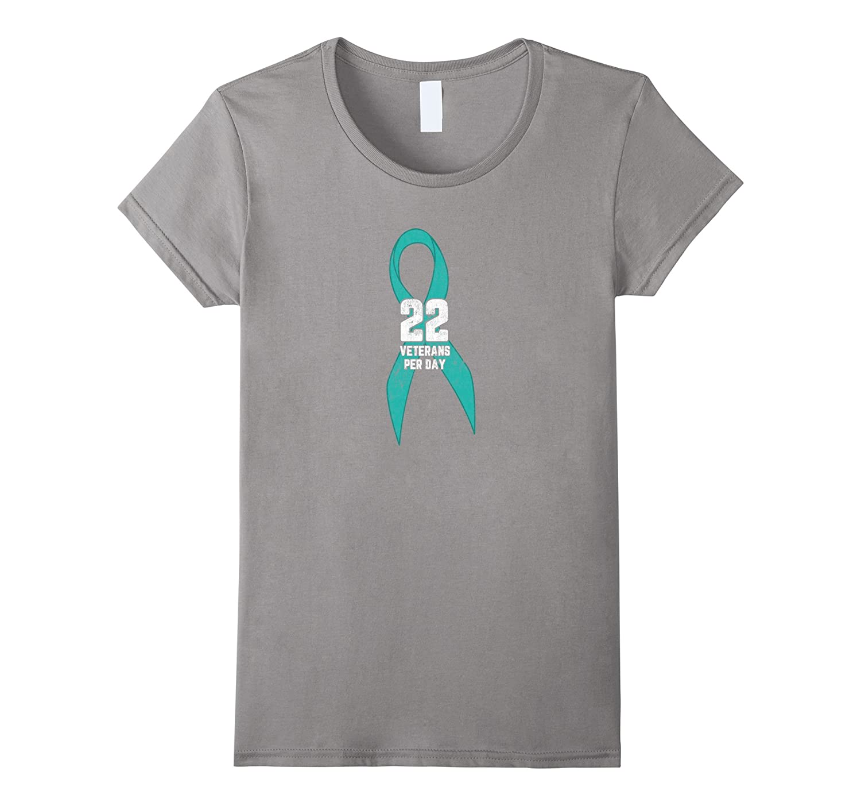 22 Veterans Per Day – PTSD Awareness Support T-Shirt