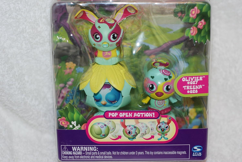 Reducción de precio Zoobles Twobles Bunny  Bird with Happitat