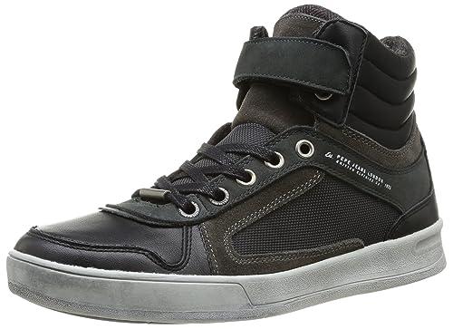 cad51066ba9 Pepe Jeans London TAYLOR VELCRO - zapatillas deportivas altas de cuero  hombre