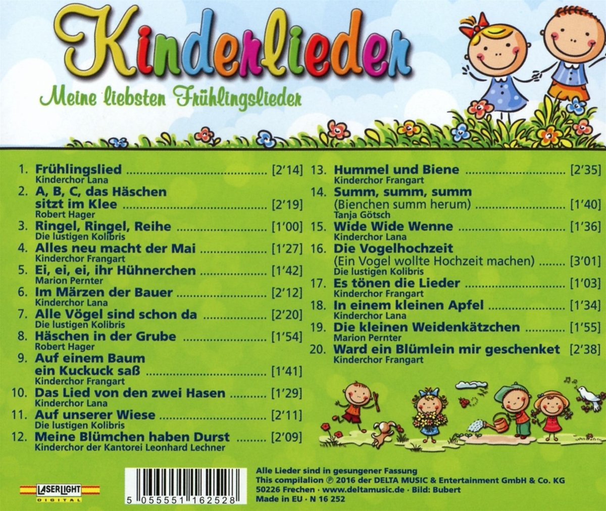 Kinderlieder Meine Liebsten Frühlingslieder Various Amazonde Musik