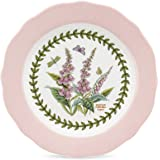 PORTMEIRION BOTANIC GARDEN TERRACE Scalloped edge dessert plates asst set of 4