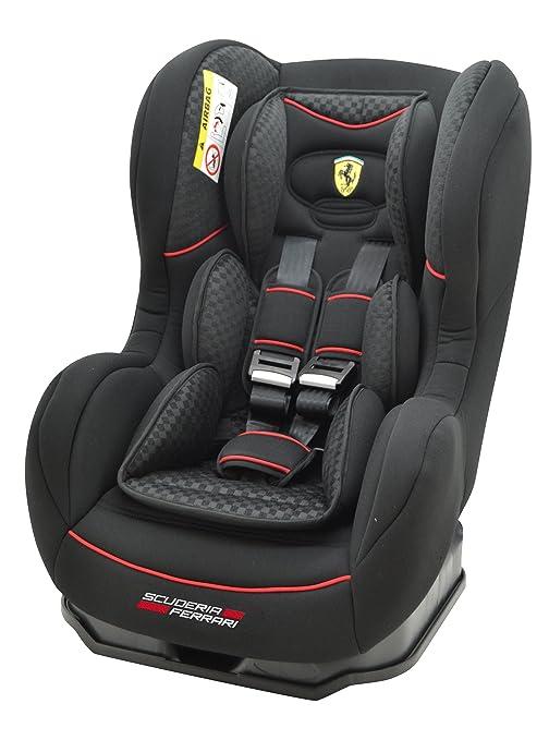 Ferrari, Silla de coche grupo 1 Isofix, negro: Amazon.es: Bebé