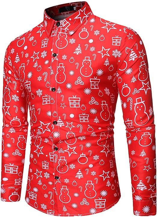 G2FN Camisas De Hombre Estampadas Camisas Hawaianas Hombre Tallas ...