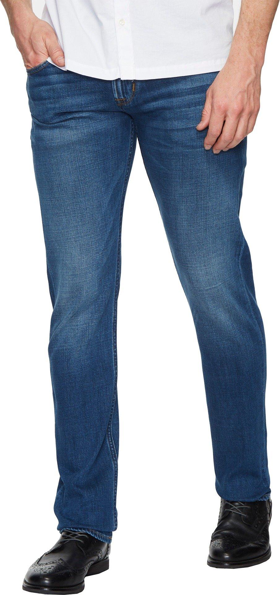 Hudson Jeans Men's Blake Slim Straight Zip Fly Jeans, Spotlight, 34
