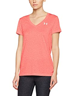 Under Armour Tech SSV Twist Gym T Shirt Ultra-light /& Breathable Running Apparel Ladies T Shirt Made of 4-Way Stretch Fabric