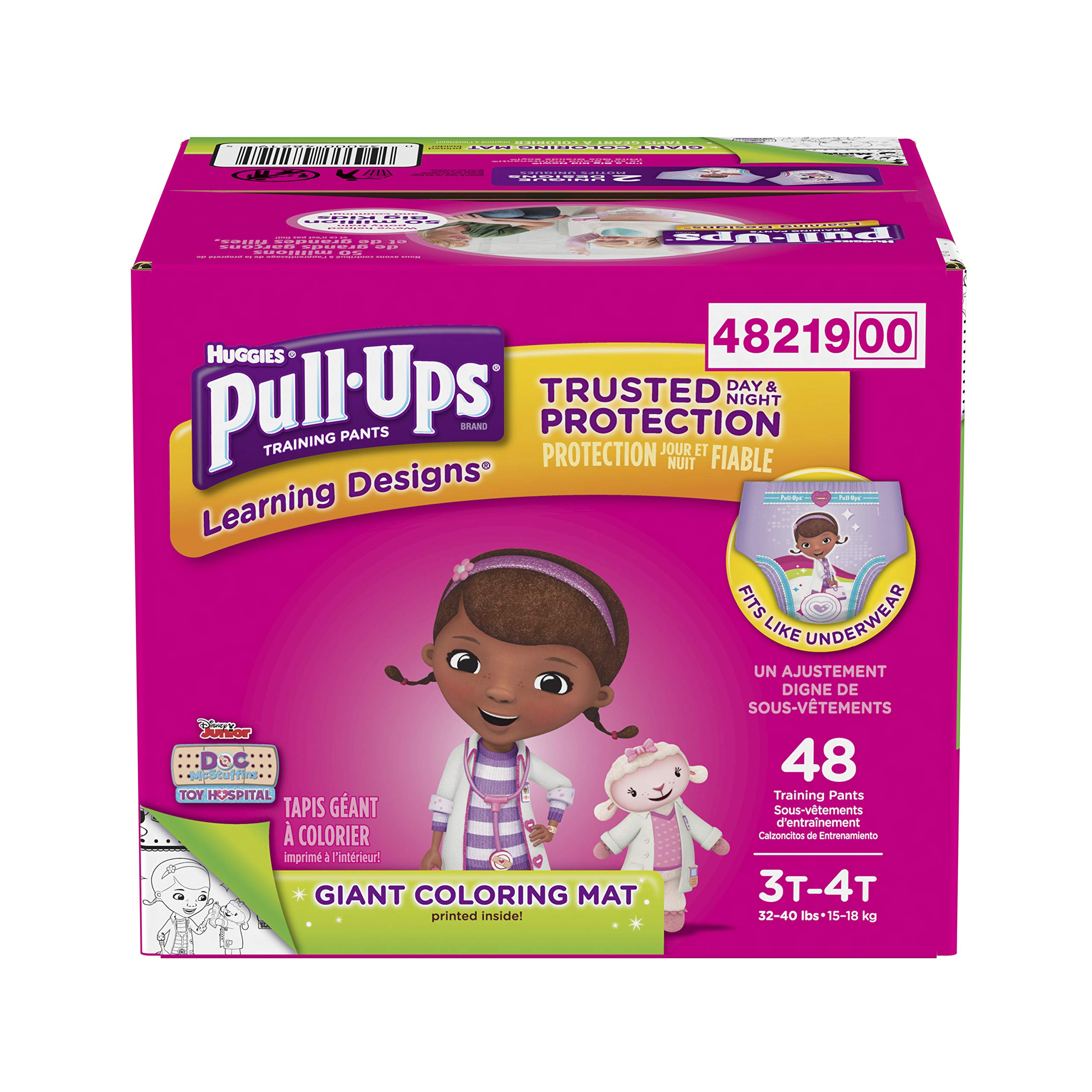 Huggies  Pull-Ups Learning Designs Potty Training
