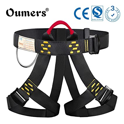 Amazon.com : Oumers Climbing Harness, Safe Seat Belt for Indoor Rock