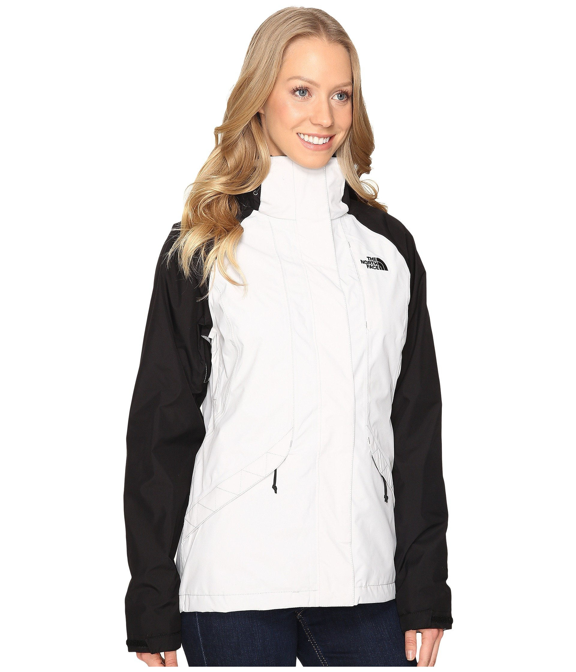 North Face Womens Boundary Triclimate Jacket - Large - Lunar Ice Grey/TNF Black by The North Face (Image #5)