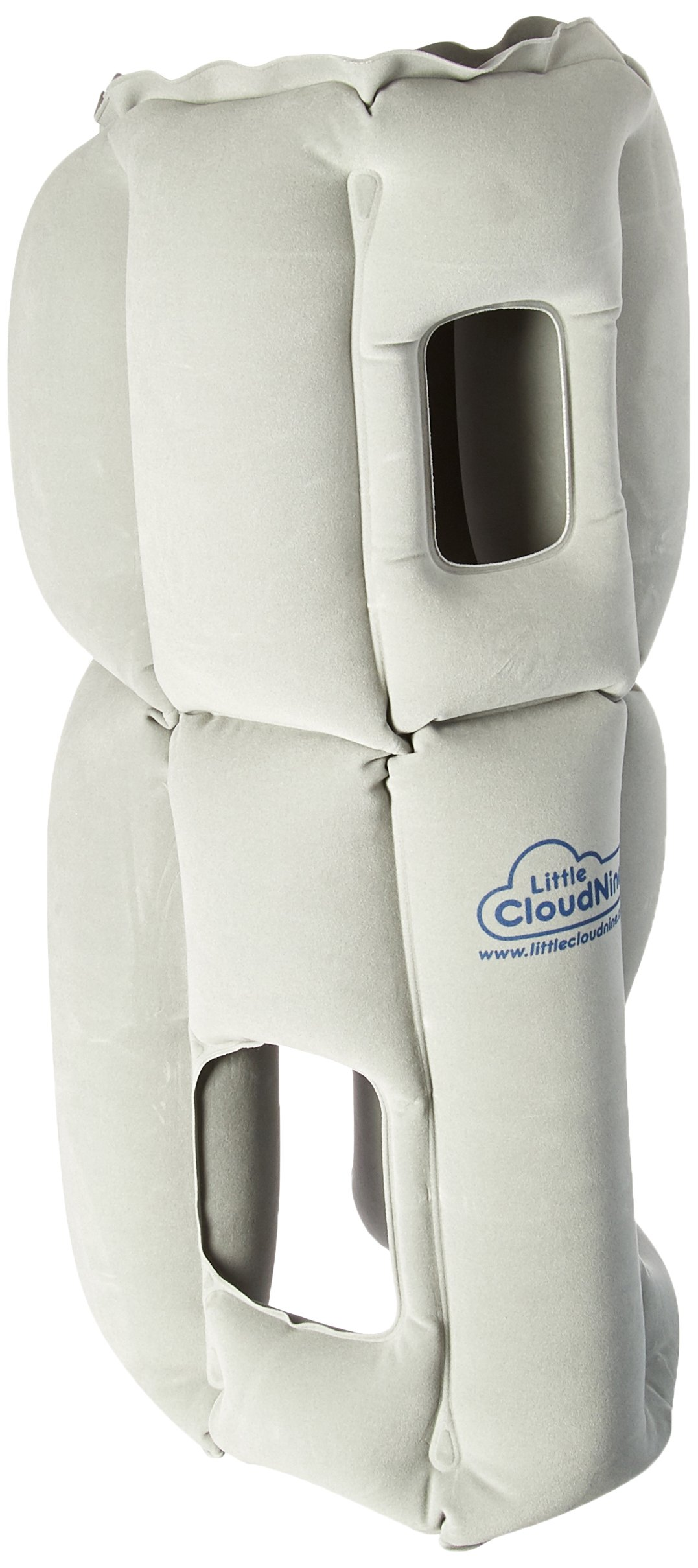 Travel Pillow by Little Cloud Nine - The Best Travel Pillow for Long Distance Flights, Trips & More - Makes Coach Sleep Like First Class (Large)