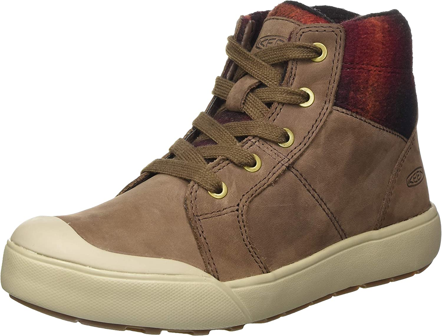 KEEN Women's Elena Mid Height Ankle Boot Hiking