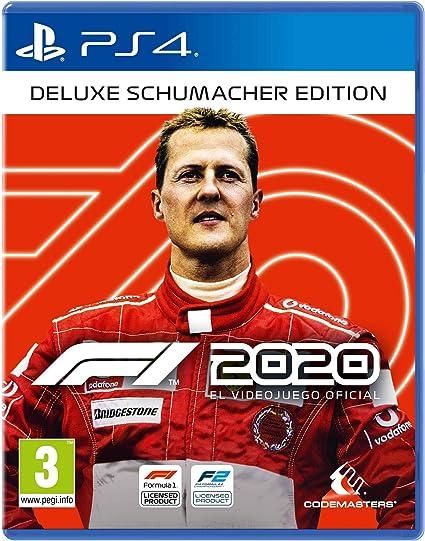 F1 2020 Deluxe Schumacher Edición PS4 ESP: Amazon.es: Videojuegos