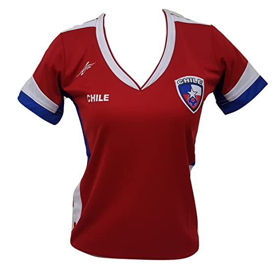Amazon.com  Chile Slim Women Soccer Jersey Exclusive Design Copa America  Centenario 2016 (Medium) (0705968359046)  Books 212e5cd373