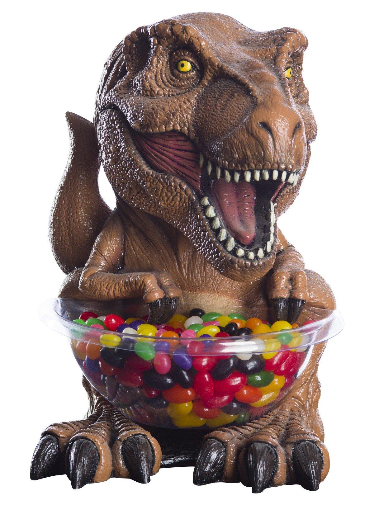 Rubie's 69067 Jurassic World: Fallen Kingdom Candy Bowl Holder, Small, T-Rex