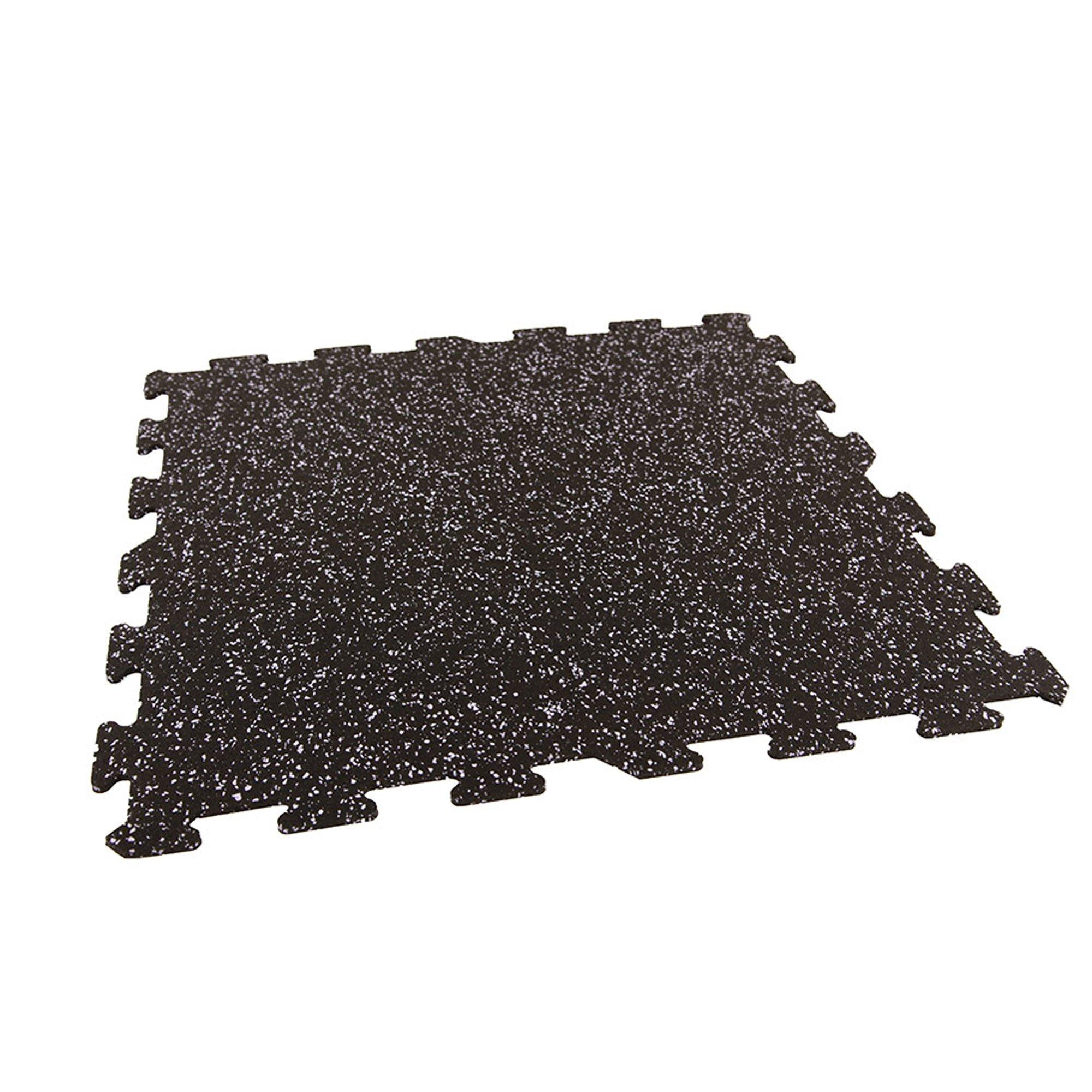IncStores Energy Rubber Tile Flooring Equipment Mats (Confetti 25 Tiles, 100 Sqft)