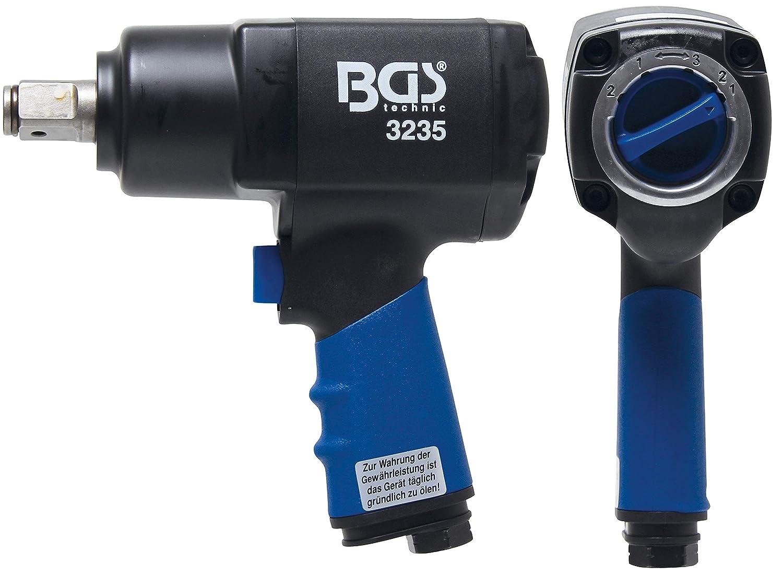 Druckluft-Schlagschrauber BGS 3233 1//2 Vierkant Drehmoment-Einstellung m/öglich 12,5 mm Rechts- u. Linkslauf | 1355 Nm