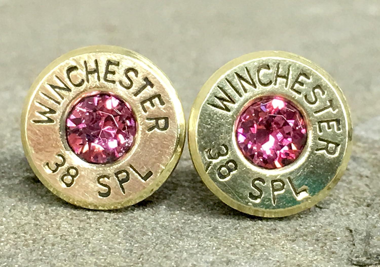 Amazon com: Bullet Earrings 38 Special Shell Casings Designer
