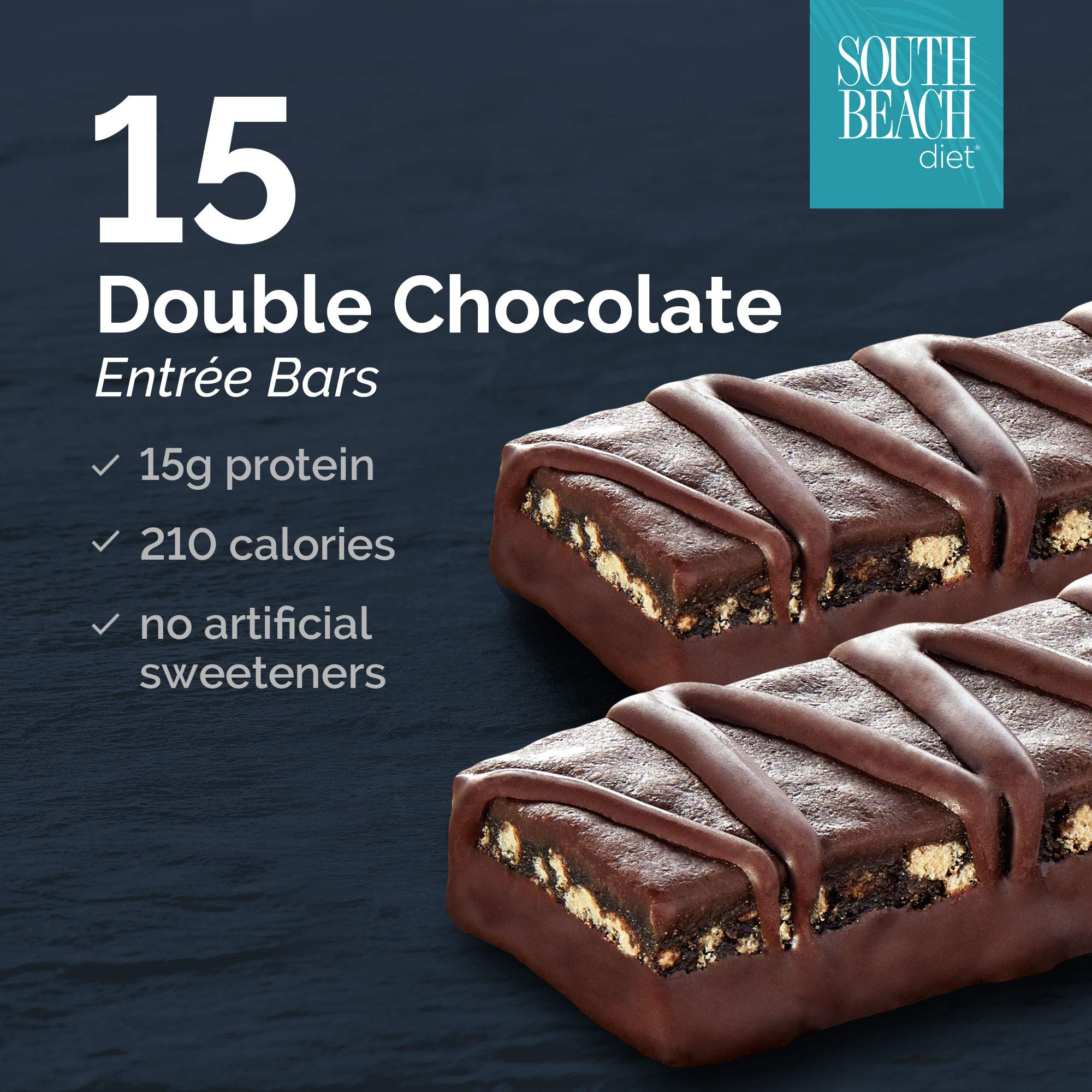 South Beach Diet® Double Chocolate Entrée Bar, 15CT