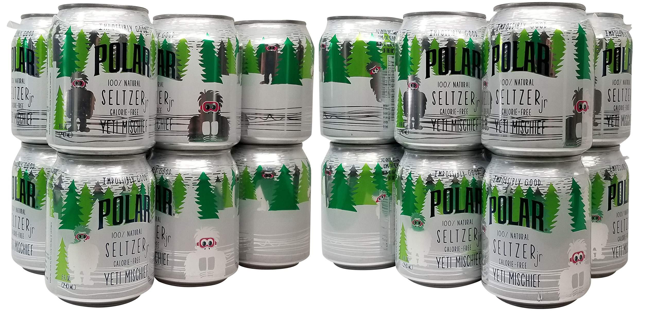 Polar Seltzer Impossibly Good Yeti Mischief 24 pk 8 oz. Cans by Generic