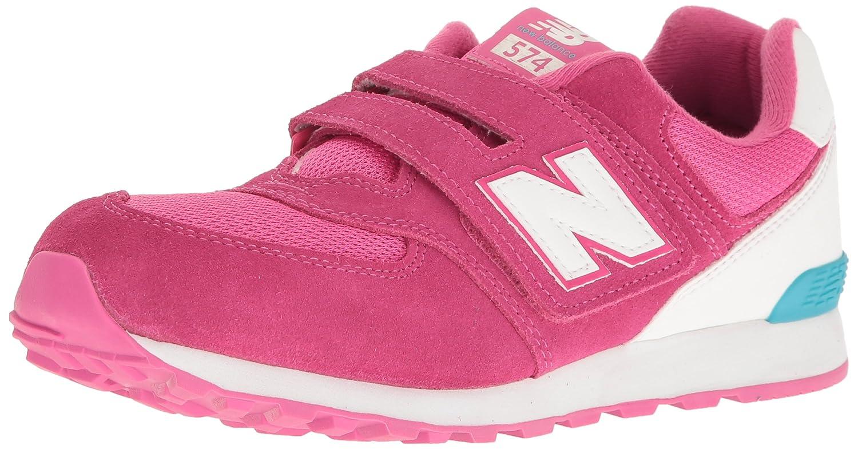 New Balance Unisex-Kinder Kv574cki M Hook and Loop Sneakers, Teal/White