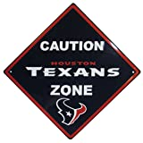 NFL Unisex Caution Wall Sign Plaque