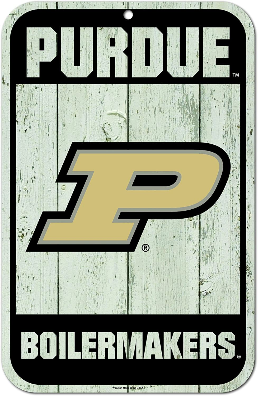 Team Color, WinCraft Purdue Boilermakers NCAA Chrome Plated Clock