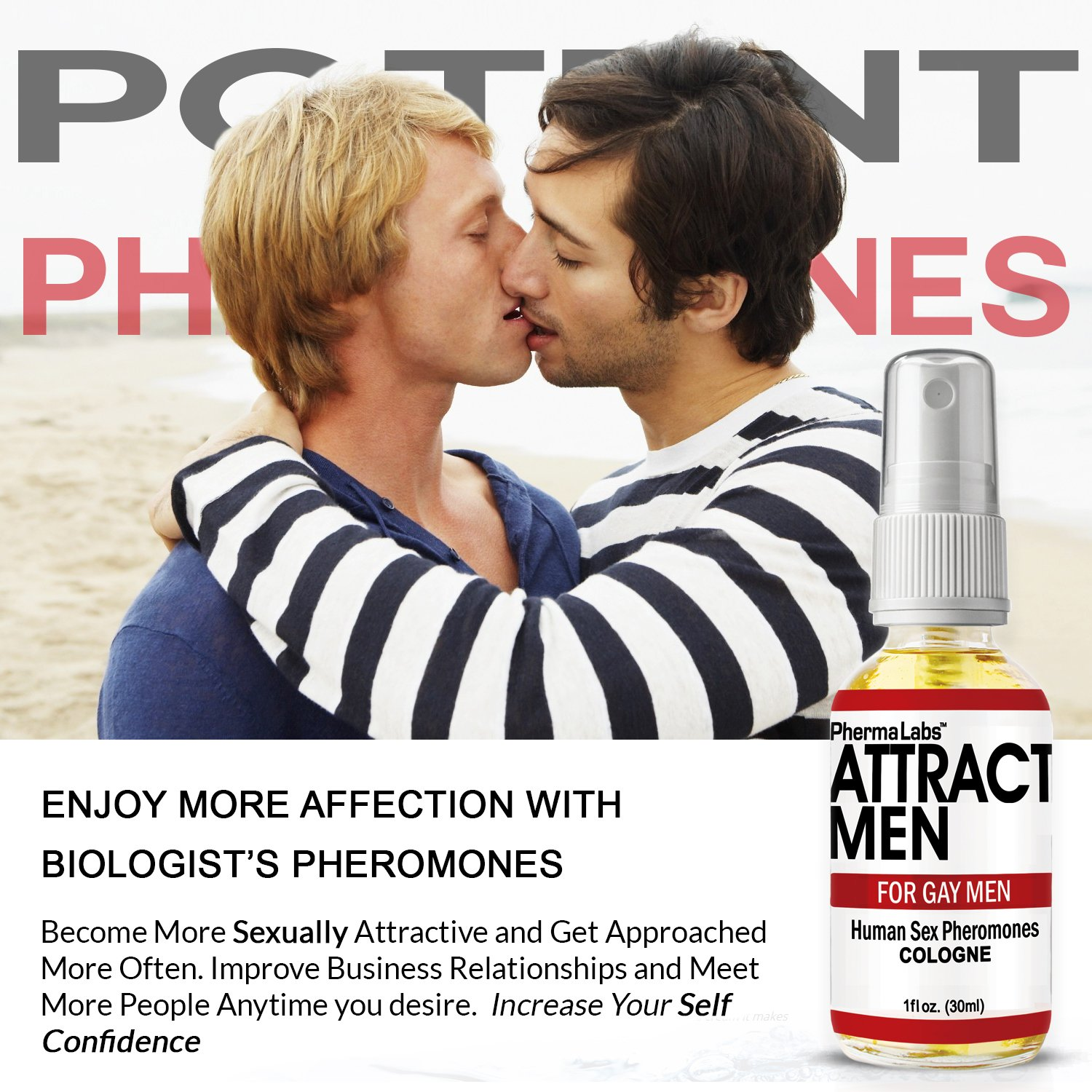 Amazon.com : The Secret to ATTRACT MEN for GAY MEN ! Human Sex Pheromones  Cologne Spray : Beauty