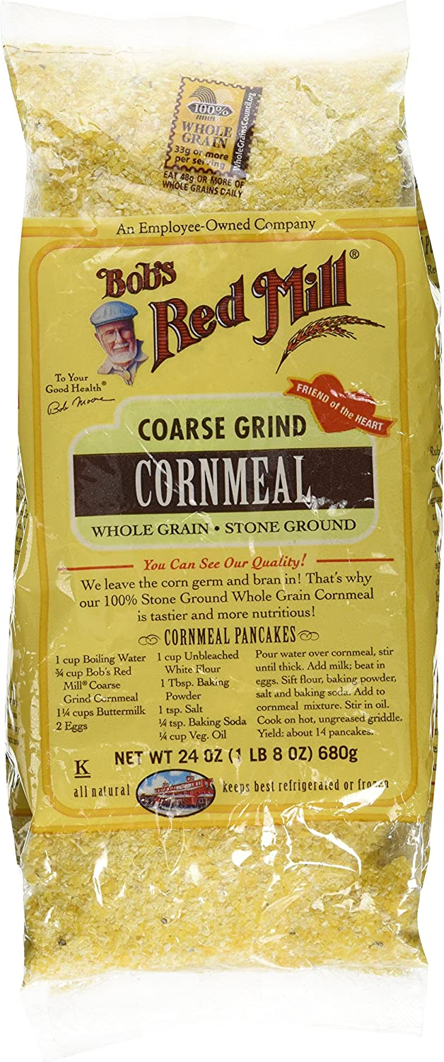 Bobs Red Mill cornmeal Coarse