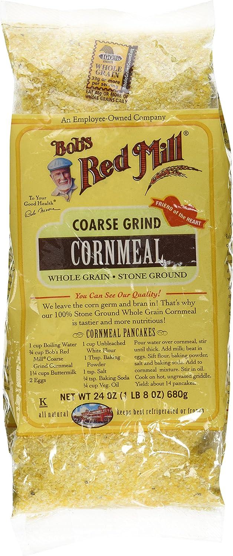 Bobs Red Mill cornmeal Coarse