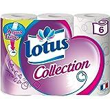 Lotus - 2 Confezioni di 6 rotoli di Carta Igienica, Colori Assortiti